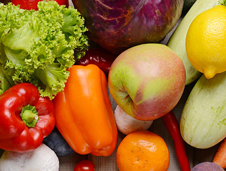 Gamme de fruits et légumes chez chronodrive