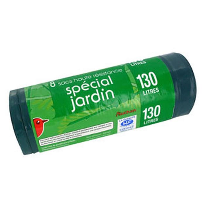 chronodrive | AUCHAN : Sacs poubelle 130 L à lien classique Spécial ...