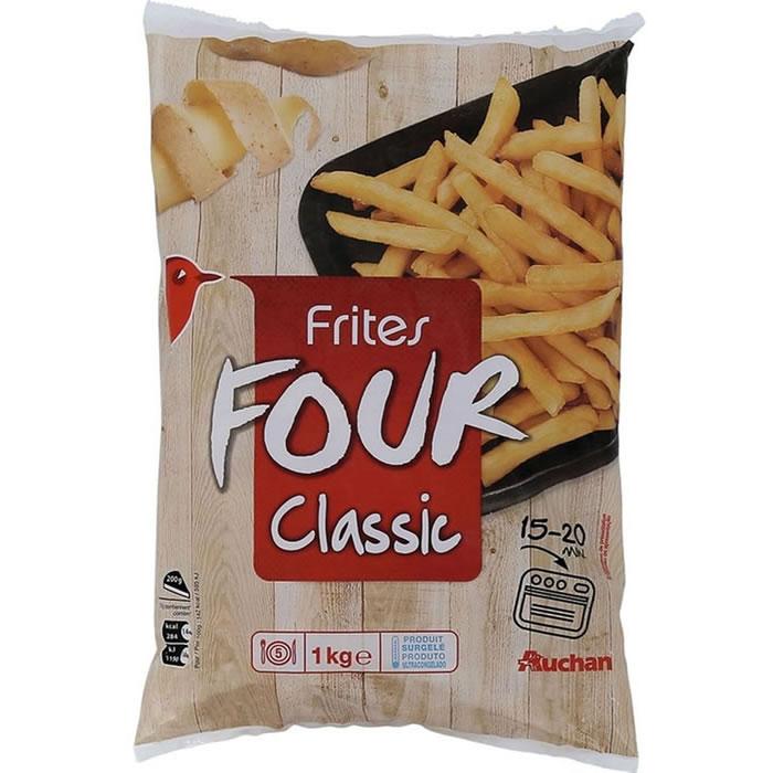 Chronodrive auchan frites au four - Frite au micro onde ...