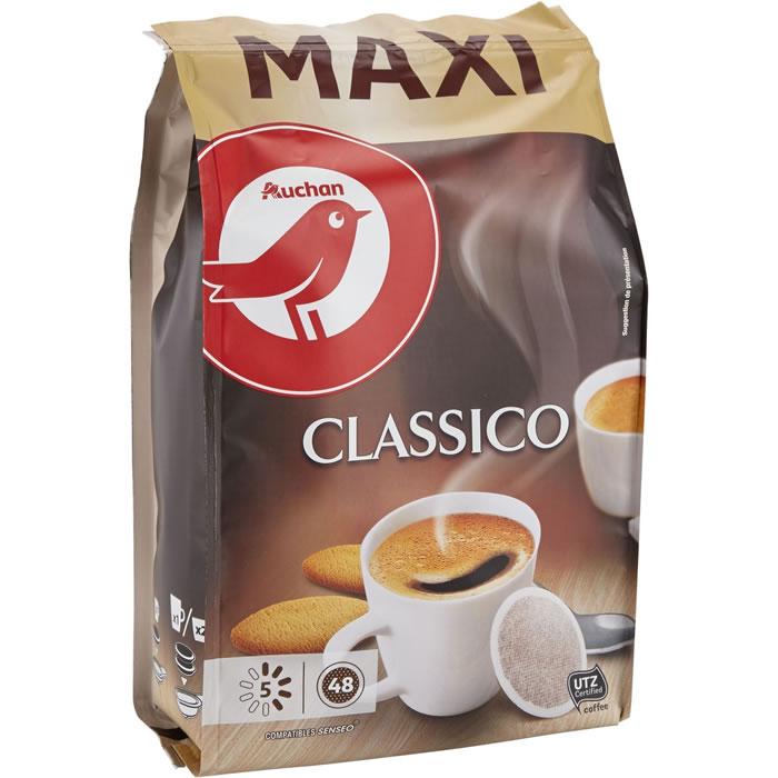 chronodrive | AUCHAN : Dosettes de café classique