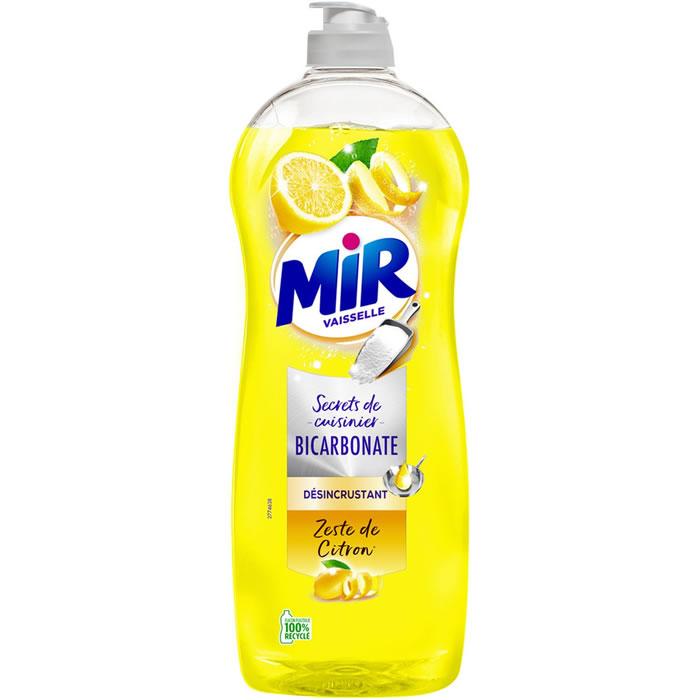 Chronodrive mir secrets de cuisinier liquide vaisselle bicarbonate zeste de citron - Citron et bicarbonate ...
