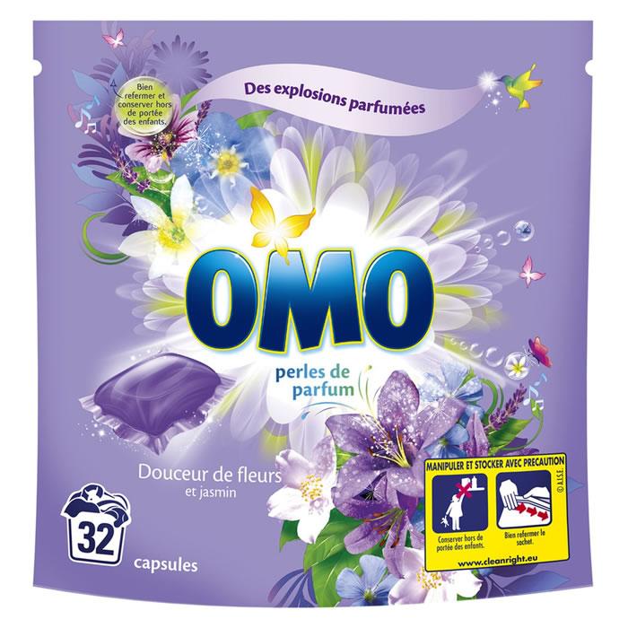 Chronodrive omo perles de parfum lessive liquide en capsules douceur de fleurs et jasmin - Lessive maison quelle huile essentielle ...