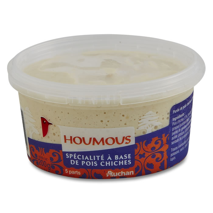 Houmous,AUCHAN,200 g