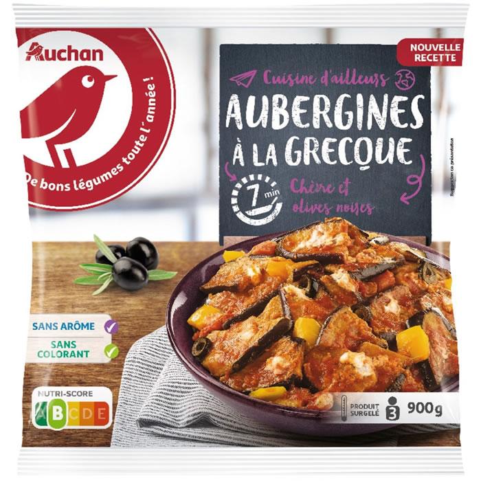 chronodrive | AUCHAN : Les Cuisinés - Aubergines à la Grecque
