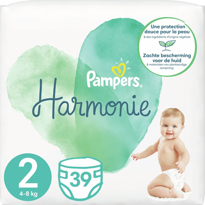 Chronodrive Pampers Harmonie Couches Pampers Taille 2 4 8 Kg