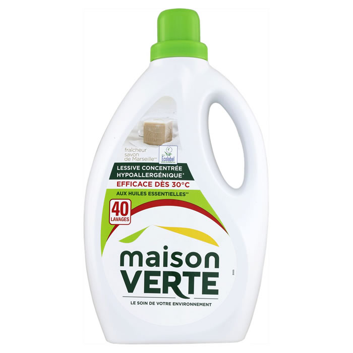 Lessives maison verte comparez vos produits soin du linge au meilleur prix - Maison verte lessive ...