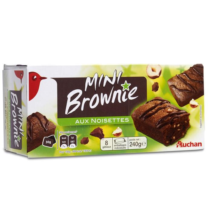 Chronodrive auchan mini brownie aux noisettes - Auchan mini four ...