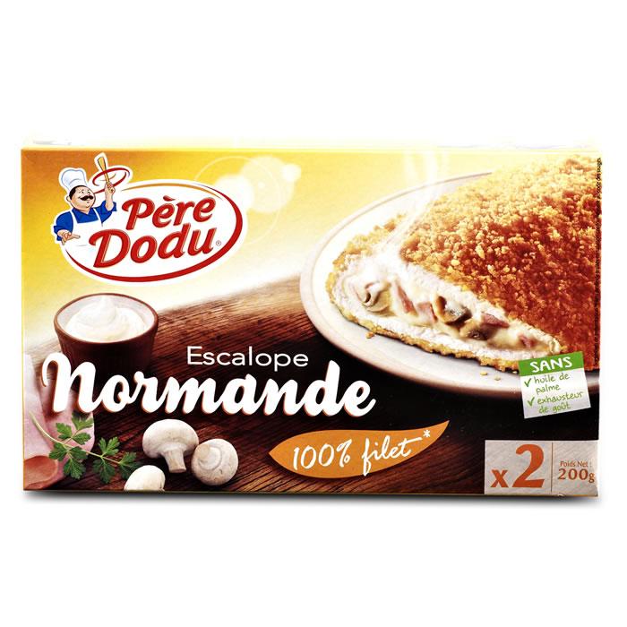Filet dindonneau farci béchamel,PERE DODU,2 x 100 g