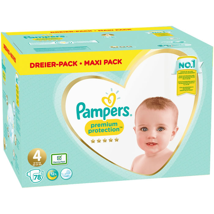 Chronodrive Pampers Premium Protection Mega Pack Couches