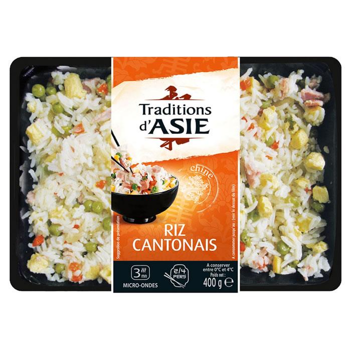 Riz cantonais,TRADITIONS D'ASIE,400 g