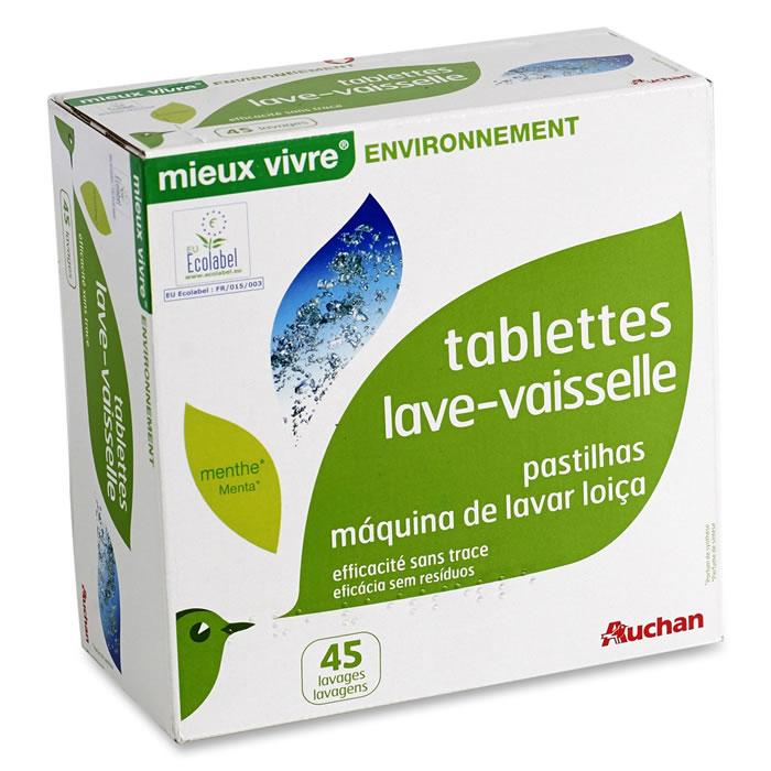 la meilleure attitude 9f6ba bc11d chronodrive   AUCHAN Mieux vivre : Tablettes lave-vaisselle ...